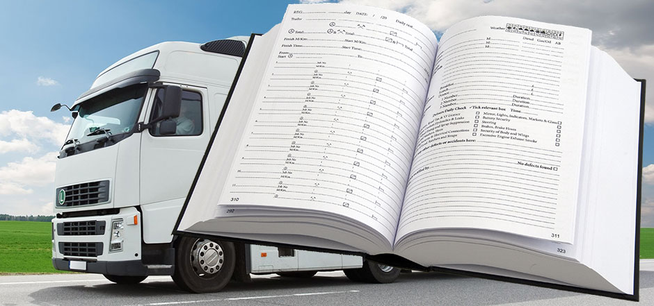 Diary for HGV, Lorry and Truck Drivers
